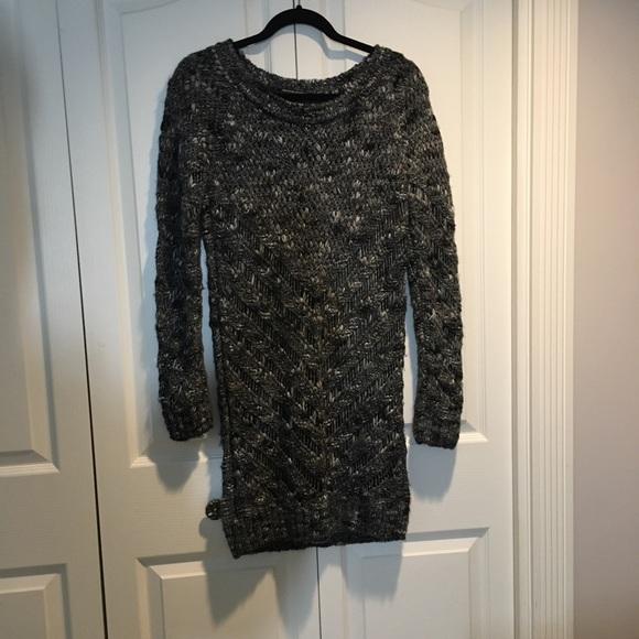 Maison Scotch long Arctic Knit sweater Grey size 2